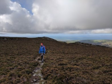 Walk up Rhinog Fawr from Graigddu-isaf