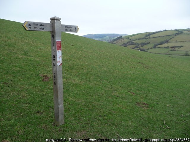 Offa's Dyke Path National Trail
