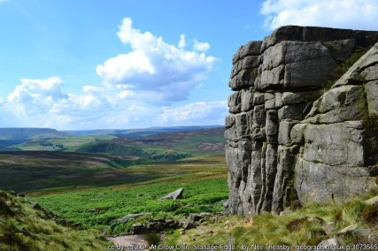 Hathersage to Stanage Edge Walking Route