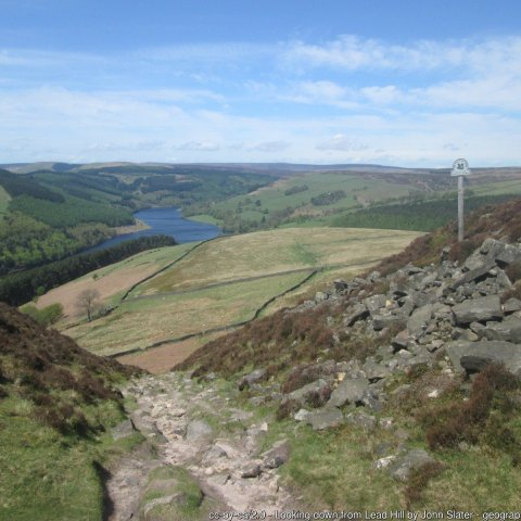 A View of Ladybower Reservoir Walk