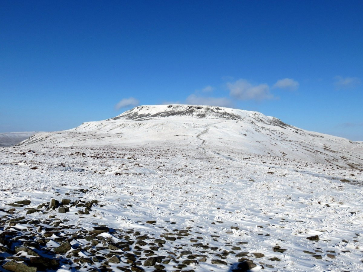 Walk up Ingleborough from Clapham
