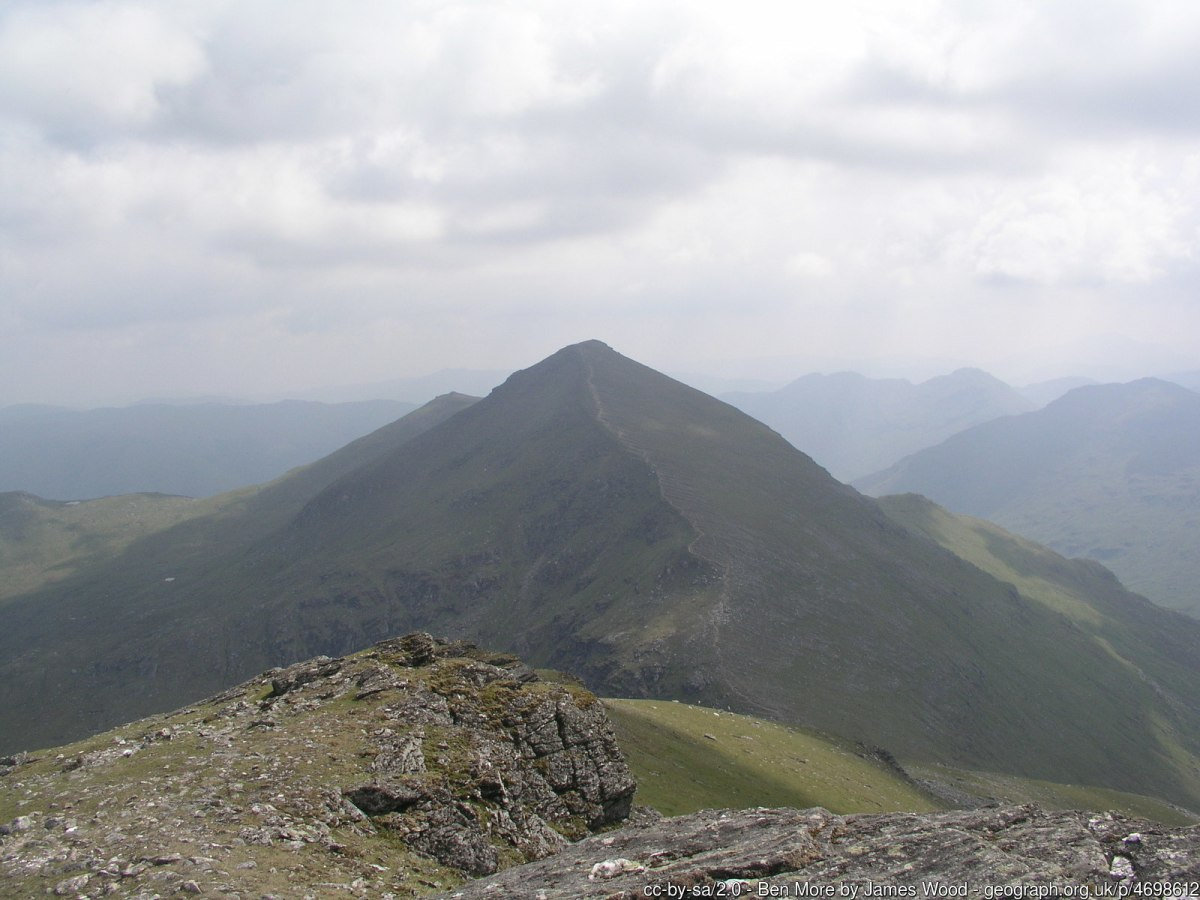 Ben More View towards Stob Binnein