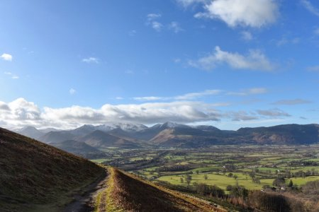 Walk up Latrigg from Keswick