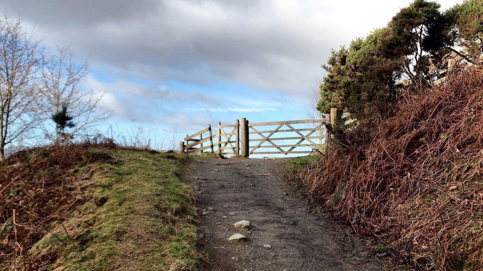 Walk up Latrigg from Keswick