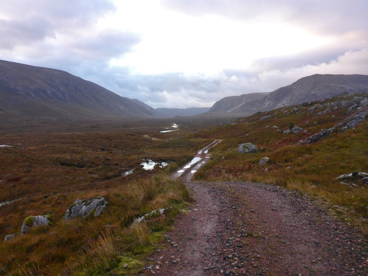Walk up Foinaven