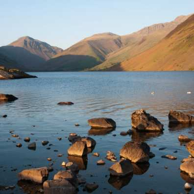 Scafell Pike walk from Wasdale -square