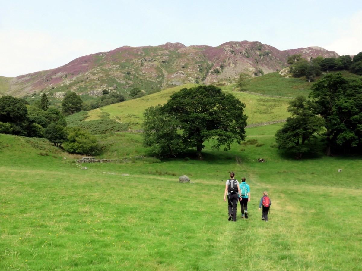 Walk to Castle Crag from Rosthwaite