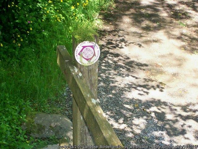 Landsker Border Trail Waymarker geograph-1333117-by-welshbabe