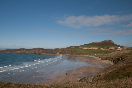 St Davids Head and Carn Llidi Walk from Porth Mawr / Whitesands Beach
