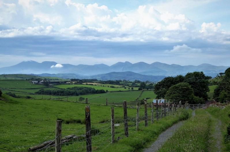 1.3 Walk up Cratlieve - Dromara Hills