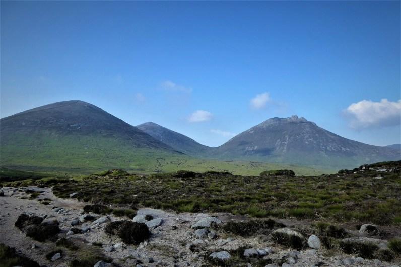 11.3 Doan path Walk up Slieve Muck, Slievenaglogh and Doan