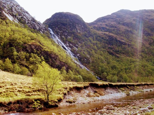 Steall Falls - Harry Potter Waterfalls