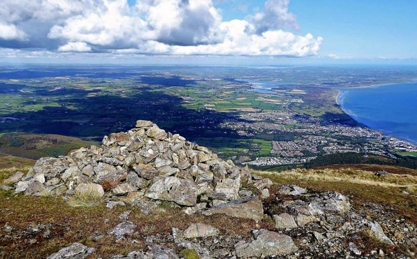 Walk up Slieve Commedagh via Hare's Gap