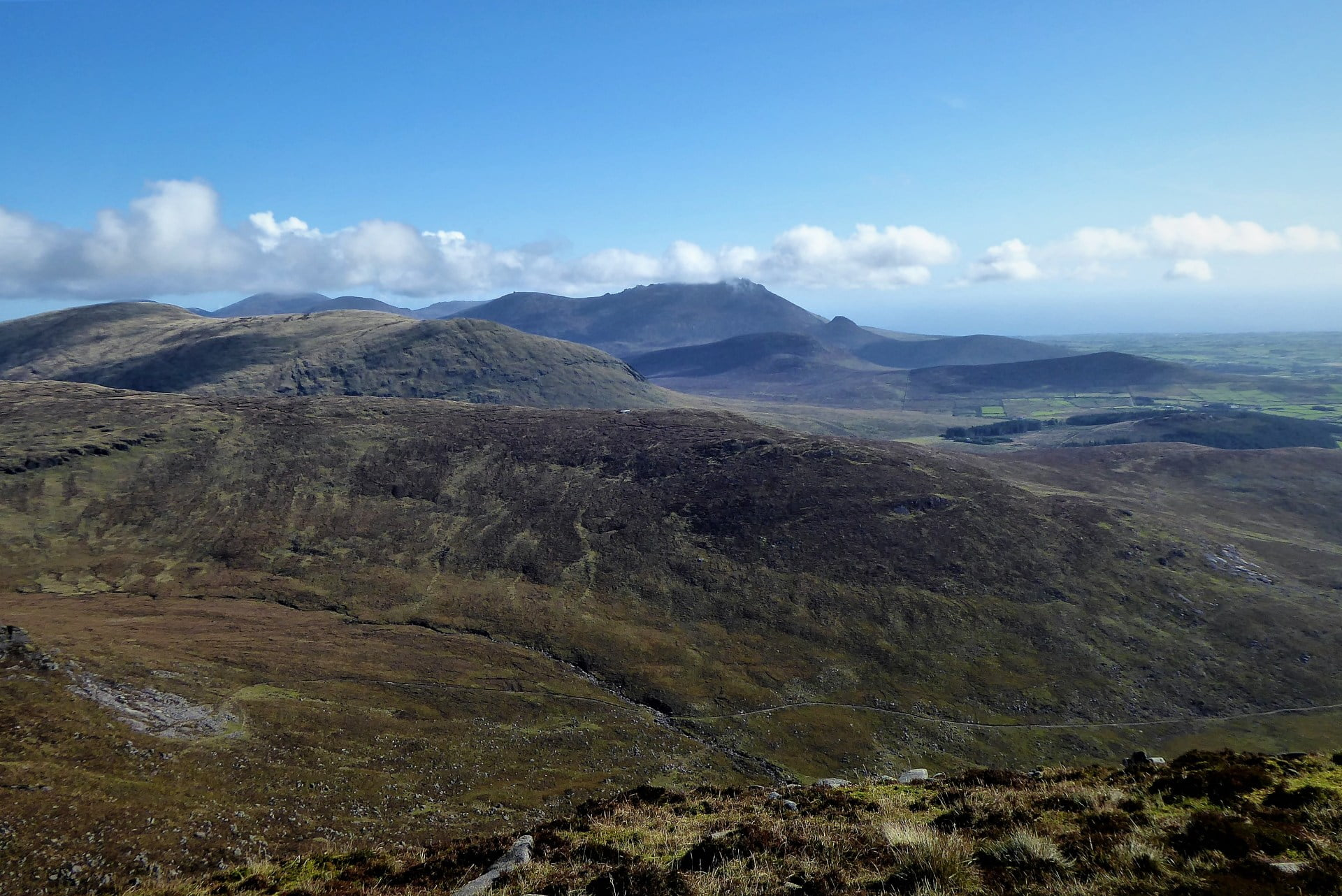 Eagle Mountain Western Mournes Circular Walk