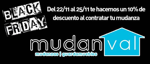 Mudanzas Mudanval Black Friday