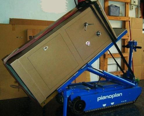 Transporte de cajas fuertes