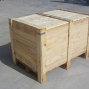 Caja madera a medida transporte aereo