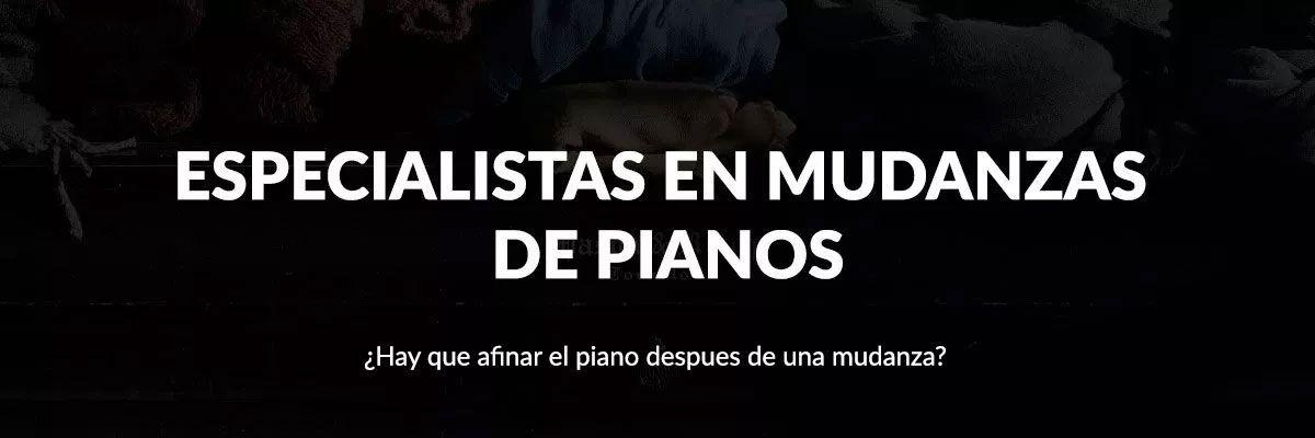 Especialistas en mudanzas y traslados de pianos en Cartagena