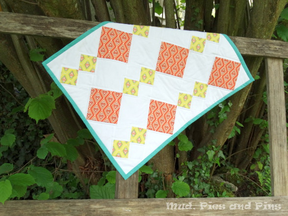 """Stepping Stones"" mini quilt 