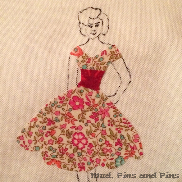 Lady in Liberty and Embroidery| Mud, Pies and Pins