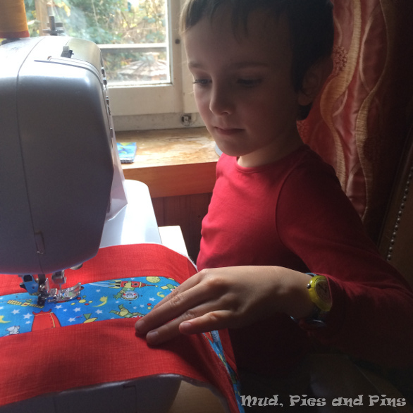 Sewing with Children | Mud, Pies and Pins