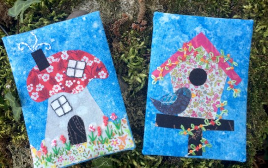 Home Sweet Home - Fabric ATC Swap