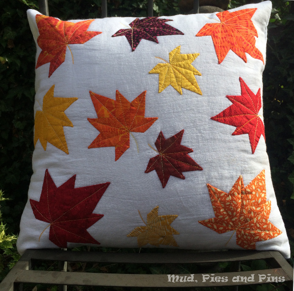 EPP maple leaf pillow | Mud, Pies and Pins