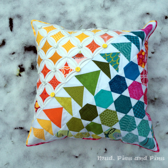 Spring pillow snow