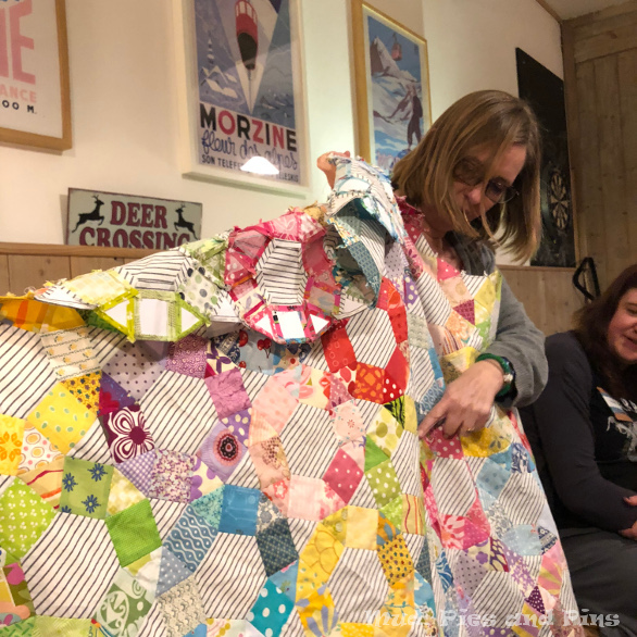Elizabeth (@lemonshark) and her Spring Carnival quilt | Mud, Pies and Pins