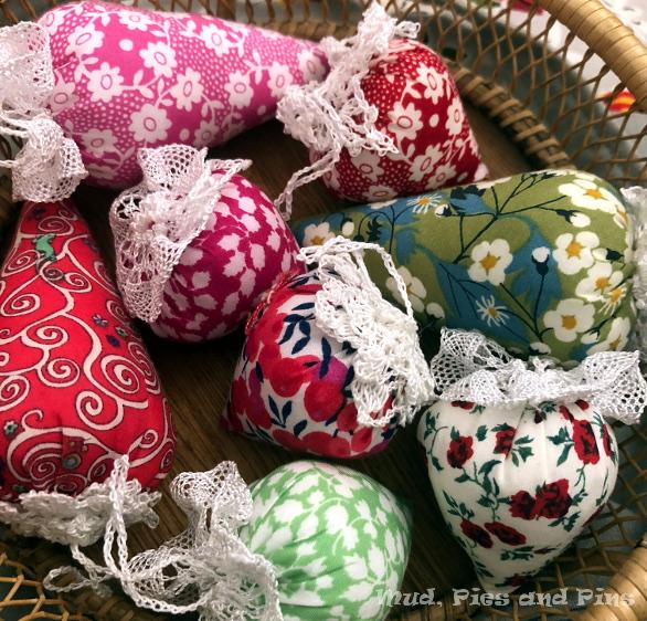 Handmade Liberty Christmas ornaments | Mud, Pies and Pins