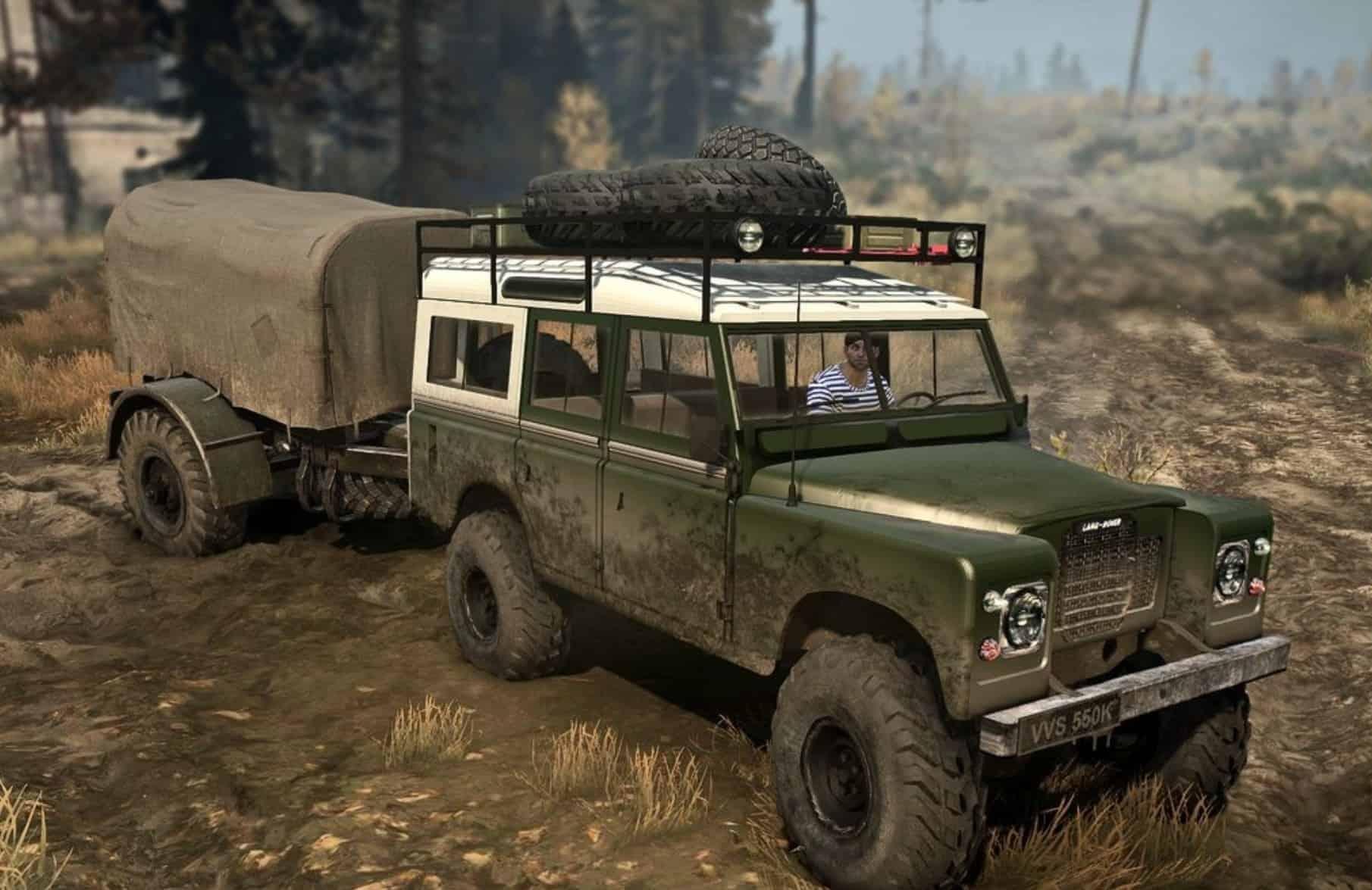 Land Rover series III v1 0 Spintires MudRunner Mod