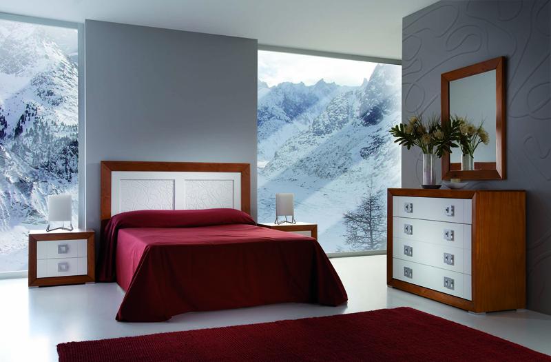 Dormitorio Colonial Moderno