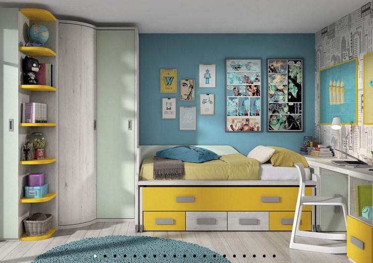 dormitorio STYLING MOSTAZA