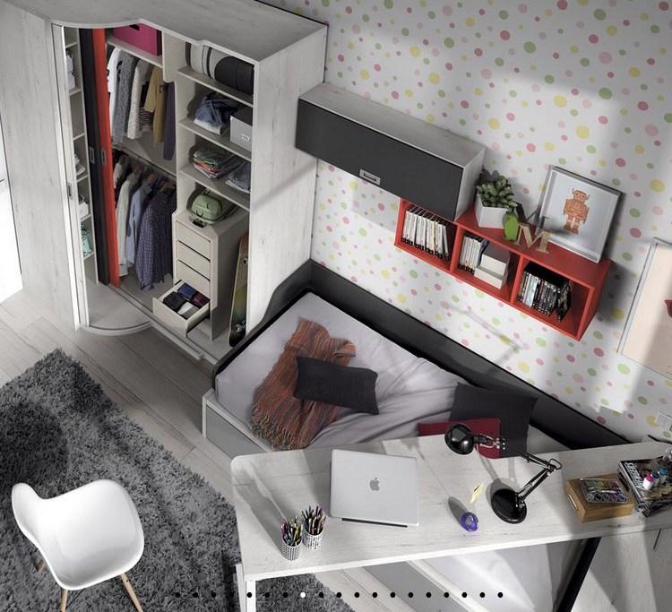 dormitorio STYLING Teja y Marengo