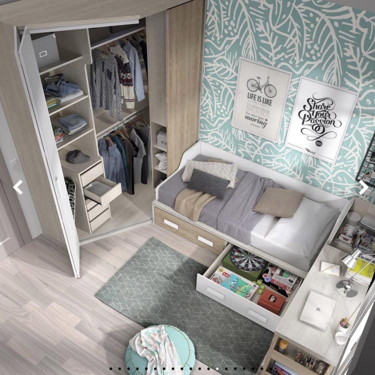 dormitorio juvenil Styling Wood crudo