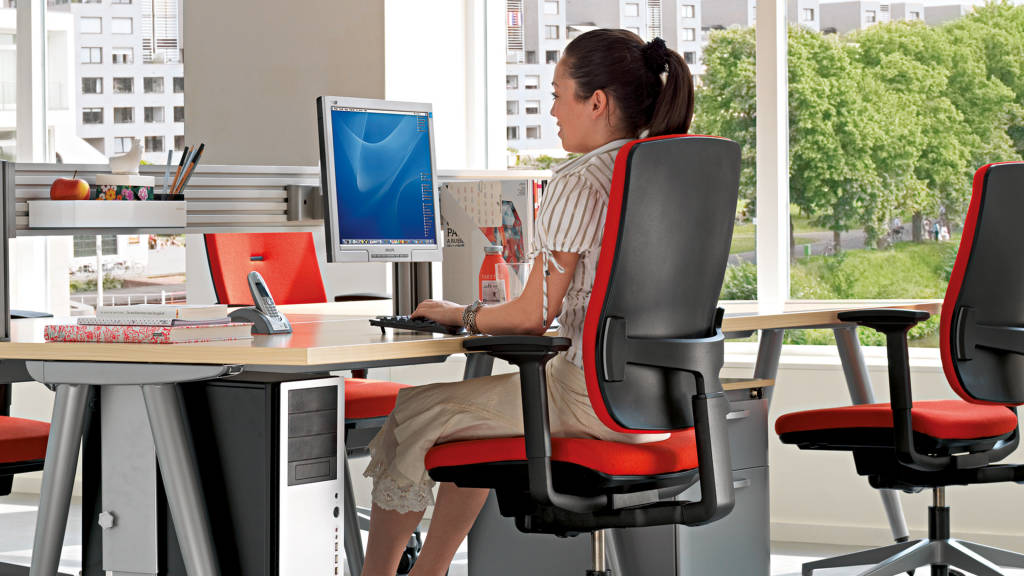 Ergonomía en trabajos de oficina