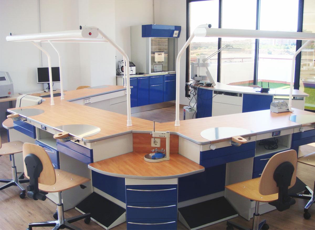 Laboratorio de prótesis dental ideal