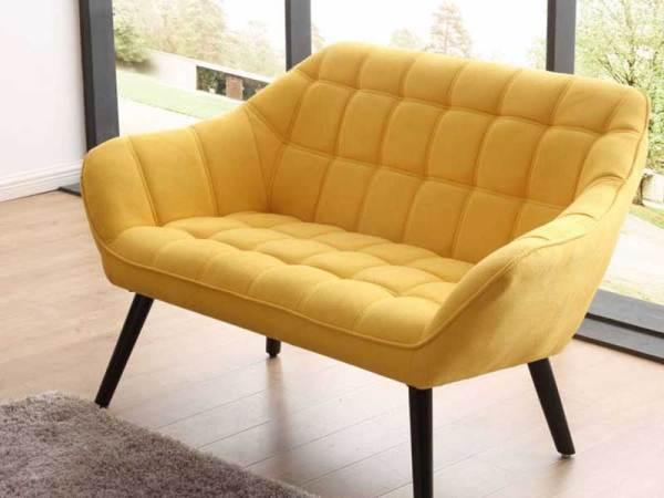 sofa olden 2 plazas mostaza