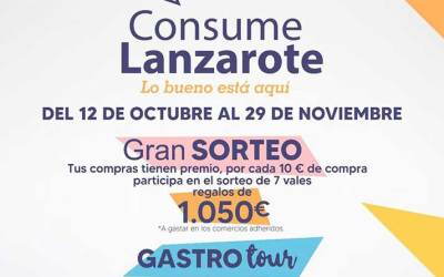 Consume Lanzarote autumn 2020 promotion