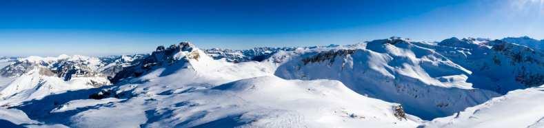 Glarus, Schilt, Schweiz, Skitour