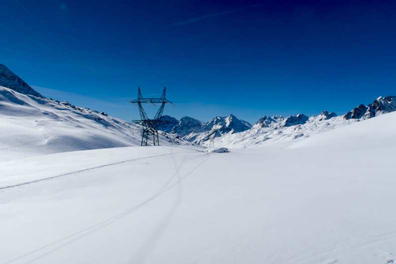 Schweiz, Skitour, Tessin, Wallis