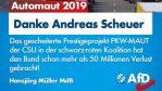 Andreas Scheuer und sein Millionengrab