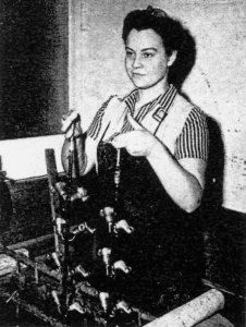 Evelyn Miller, California Plant, WWII