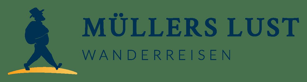 Muellers Lust Wanderreisen Logo Mobil