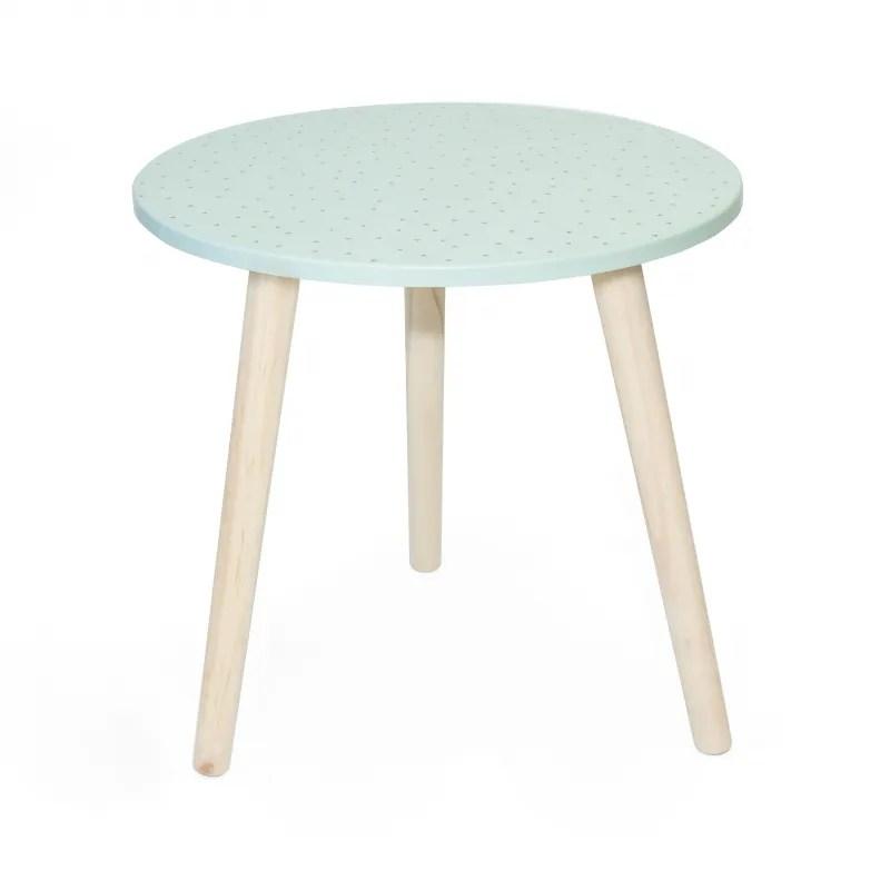 mint table basse auxiliaire 44xo45cm