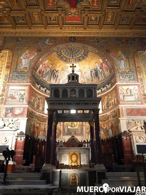 la Chiesa di Santa Maria in Trastevere