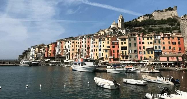 Portovenere no forma parte de Cinque Terra pero si está situado en la mima provincia, La Spezia