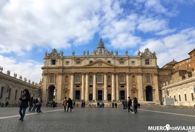 La plaza de San Pedro es uno de los puntos más visitados del mundo