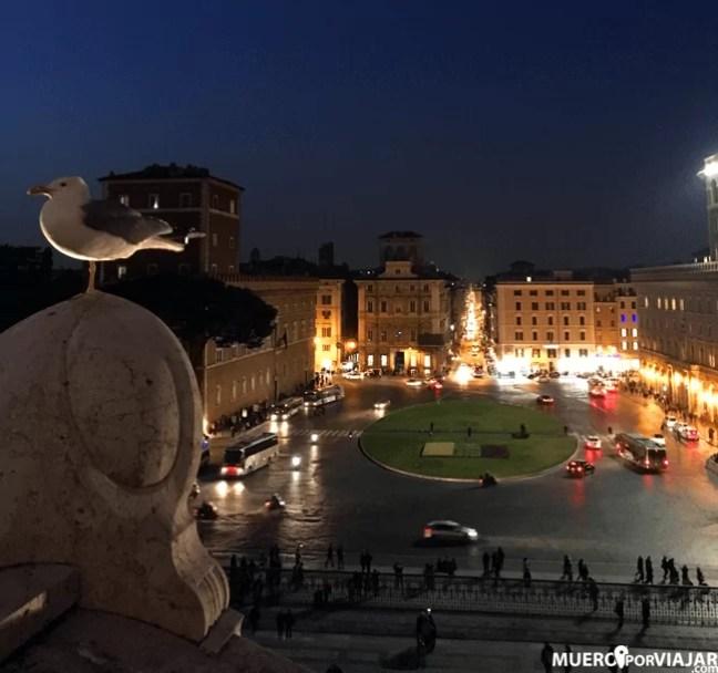 Vistas de la Piazza Venezia