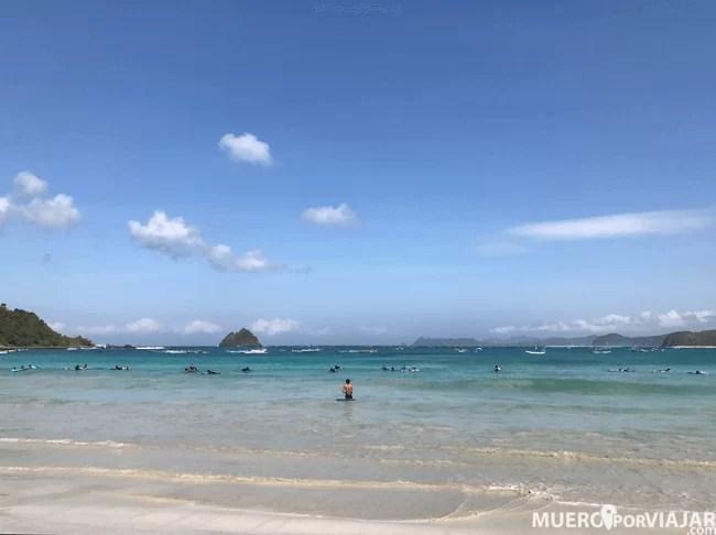 Playas de Lombok, Indonesia